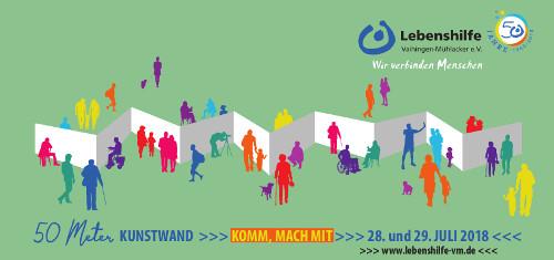 Aktionskunst – Kunstaktion auf der Aktionswiese der Enzgärten in Mühlacker